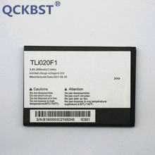 Qckbst 2000 мАч tli020f1 Батарея для TCL j720t j726t Alcatel One Touch Pop 2 5042d C7 7040 ot-7040 ot-7040d телефон + код отслеживания(China)
