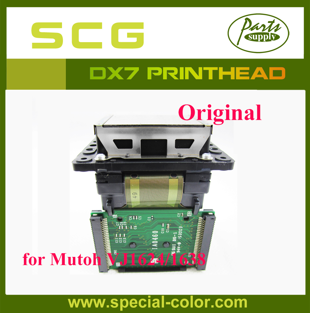 Original Mutoh DX7 Head Solvent Printhead for VJ1624/1638 playgo