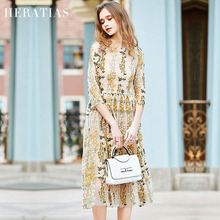 2017 New Party Embroidery Dresses Ruway Floral Bohemian Flare Flower Embroidered Vintage Boho Mesh Embroidery Dresses For Women