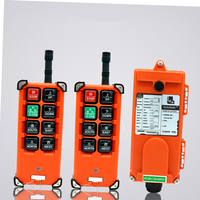 F21 E1B for hoist crane 2 transmitter and 1 receiver industrial wireless redio remote control switch switches