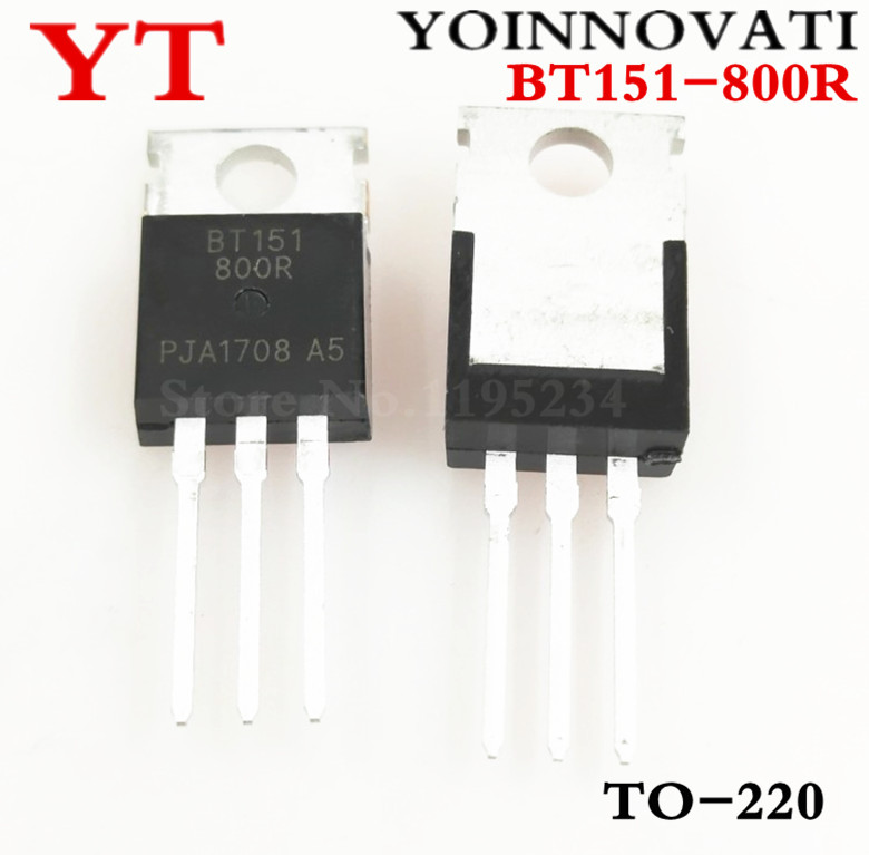 Free shipping 50pcslot BT151-800R BT151 TO220 THYRISTOR 12A 800V IC Best quality
