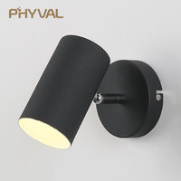 Modern Led Wall Lamp Wall Sconces Indoor Stair Light Fixture Bedroom Bedside Living Room Home Hallway Loft Up Down AC85 265V LED