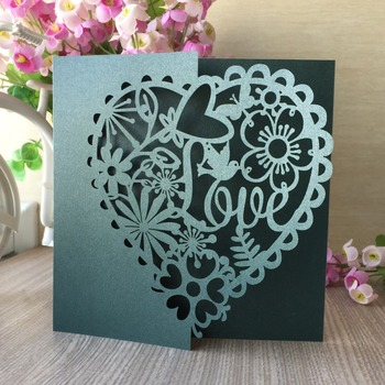 50 piezas de corte láser brids elegante flores asiento nombre RSVP tarjetas de mesa de fiesta de boda invitación deseo tarjetas para fiesta a casa suministros