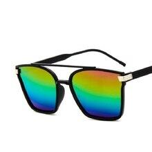 La mitad De Metal de Alta Calidad Gafas de Sol Hombres Mujeres Marca Diseñador Gafas de Sol de Espejo Gafas de Moda Gafas Gafas de Sol UV400 Gafas