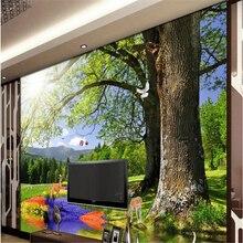 Beibehang Grosse Benutzerdefinierte Tapeten Wald Orchidee Sikawild Wohnzimmer Schlafzimmer TV Hintergrund Papel De Parede Para Qu