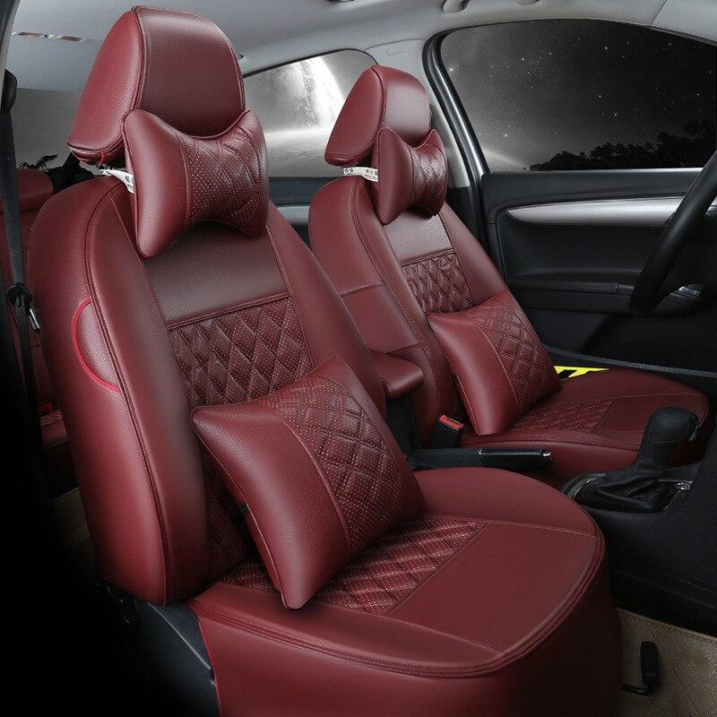 Automobiles & Motorcycles Interior Accessories Sporting Car Seat Covers Cushion Customized Flax For Ferrari Gmc Savana Jaguar Smart Lamborghini Murcielago Gallardo Rolls-royce Phantom