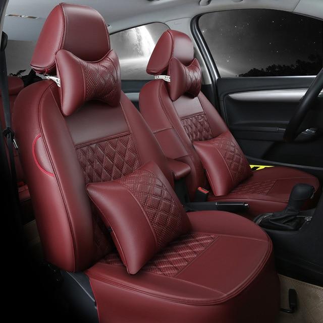 Car Seat Covers Leather Special For Ferrari GMC Savana JAGUAR Smart Lamborghini Murcielago Gallardo Rolls