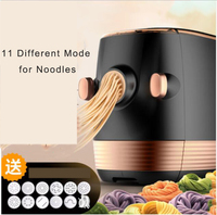 intelligent Electric noodles making pressing machine pasta maker noodle cutting machine dough roller commercial and home use