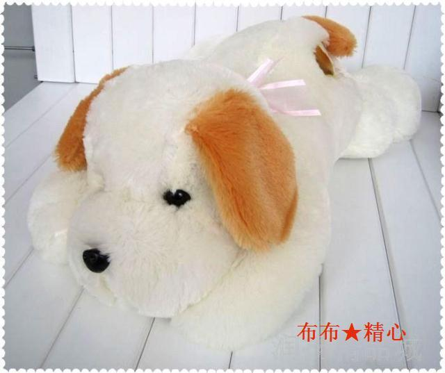 Large doll dog with big ears; 5 sizes to choose; Plush toy gift; Free shipping!