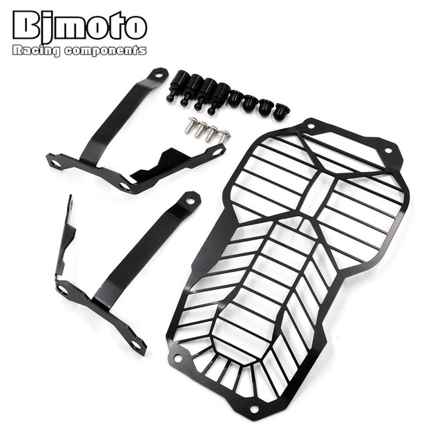 Hgc Bm002 Motorcycle Headlight Lamp Grill Guard Cover Protector For