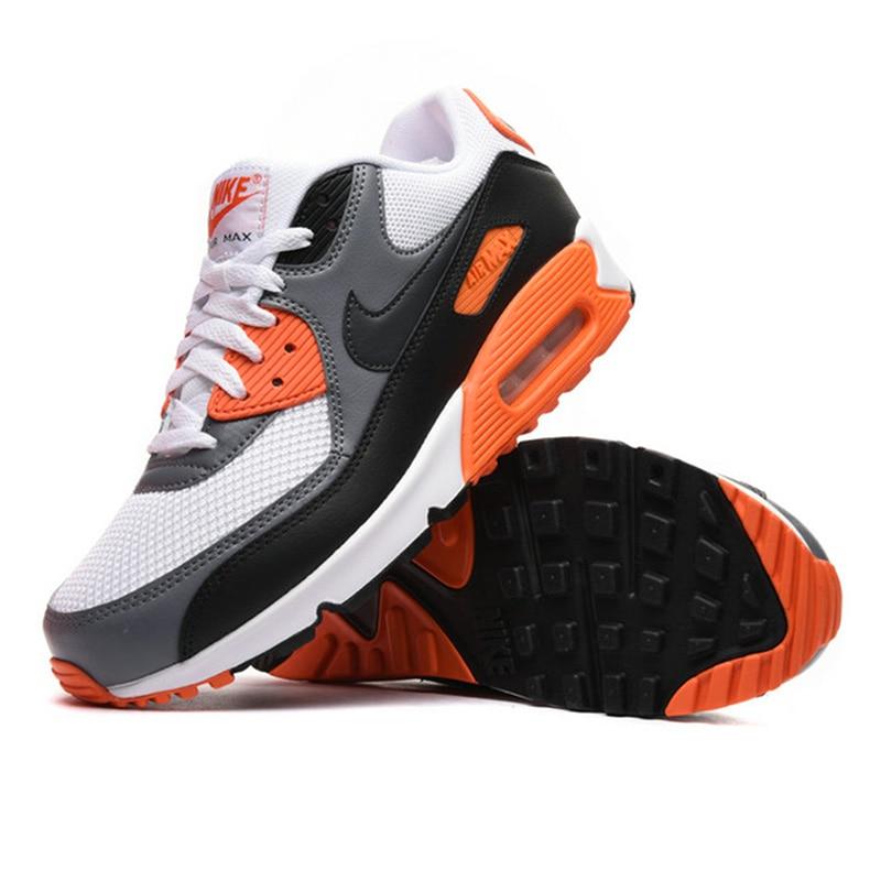 Original authentique NIKE hommes AIR MAX 90 essentiel respirant chaussures de course baskets Sports de plein AIR Tennis Designer athlétique - 2