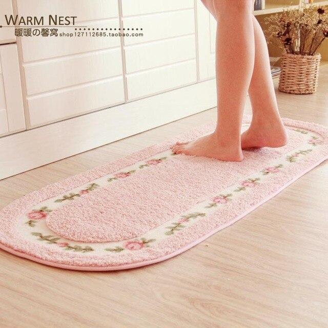 Pastoral Kitchen Mat Hallway Home Entrance Rugs And Carpets Non Slip  Doormat/Floor Mat