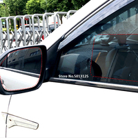 waterproof rain Car Accessorie Car Rearview Mirror Protective Film Anti Rain Fog Waterproof Rainproof Film Sticker For Ford Focus 2017 2018 2019 (1)