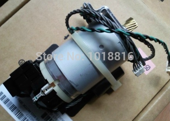 Original new Designjet 500 800 510 Paper Carriage Belt Drive Motor Y Motor C7769-60377 C7769-60375 Plotter parts free shipping new original c7769 60390 c7769 60163 cutter assembly for designjet 500 800 plotter parts on sale