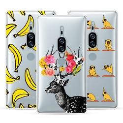 На Алиэкспресс купить стекло для смартфона cartoon case for sony xperia xz2 premium,mobile phone shell,tpu material painted beautiful color painting case.19 colors!