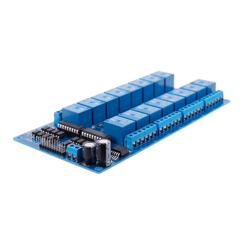 web server rj45 porto 16 canal relé