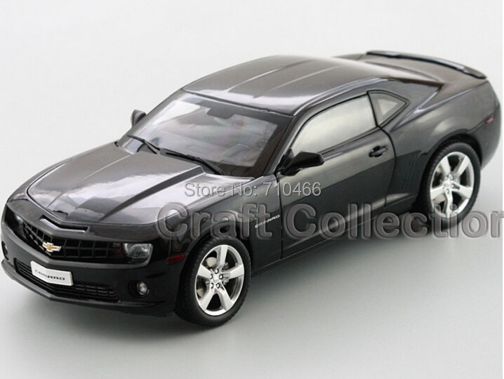 Hand Made 1 18 Black Chevrolet Camaro ZL1 Coupe Alloy Model Car Sport Car Made by
