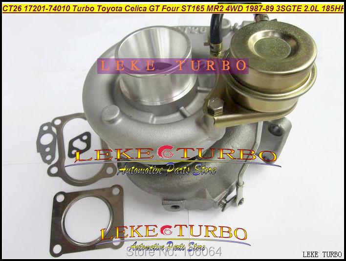 Free Ship CT26 17201-74010 17201 74010 1720174010 Turbo For TOYOTA Celica GT Four ST165 4WD 1987-89 3S-GTE 3SGTE 3SG 2.0L 185HP футболка для беременных printio toyota celica gt four