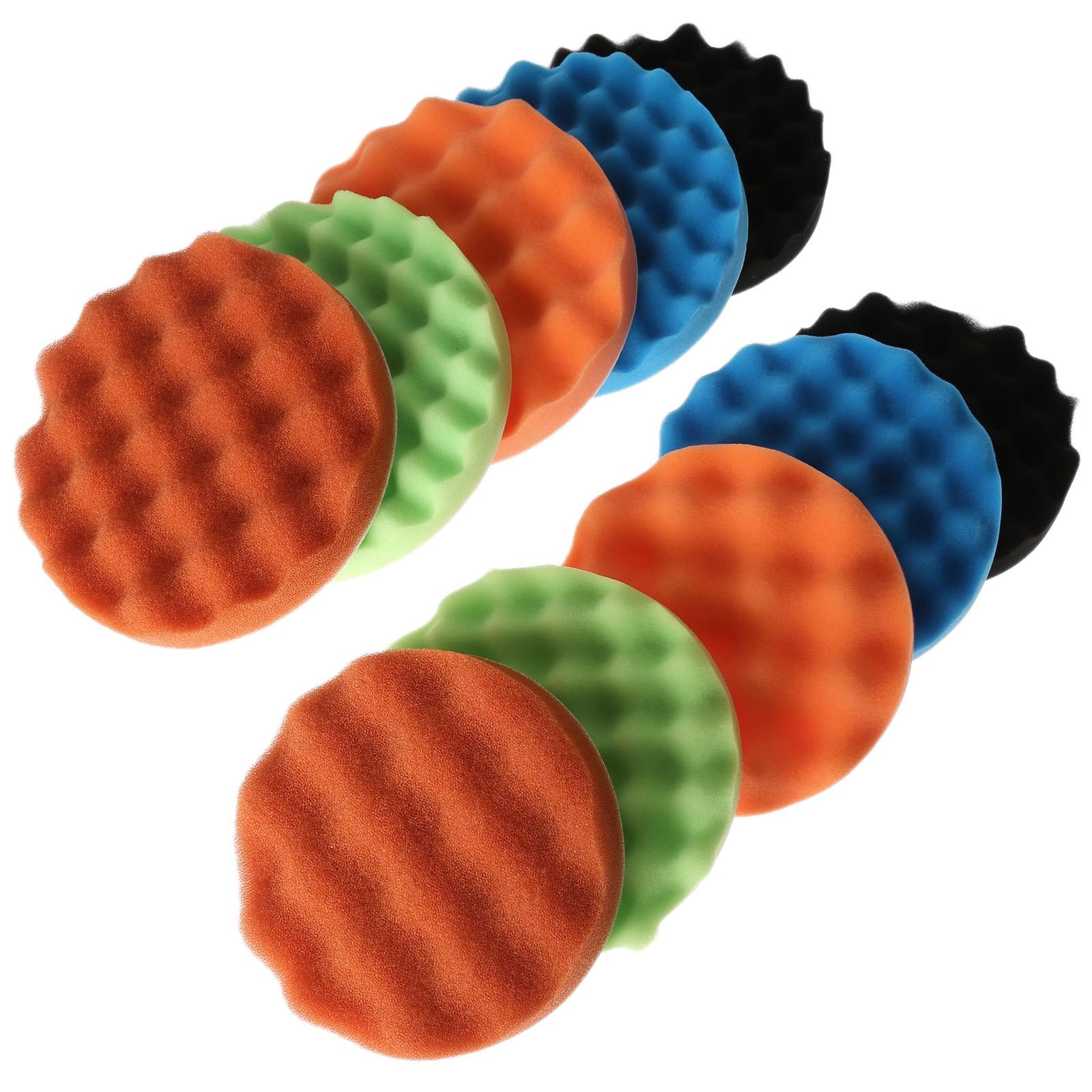 10mm Wool Felt Mounted Tips Ball Polishing Drills Strawberries Polishing Wheels Grinding Head 2 sets