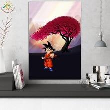 купить!  Dragon Ball Аниме Wall Art Холст Плакат и Печать Отпечатки На Холсте Живопись Декоративная Картина  Лучший!