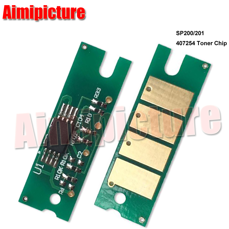 US $26 3 |For Ricoh Toner Chip SP200 SP 200 SP 201 SP201 SP202 SP 202 SP210  SP 210 2 6K 407254 Cartridge Chip 50pcs/lot-in Cartridge Chip from