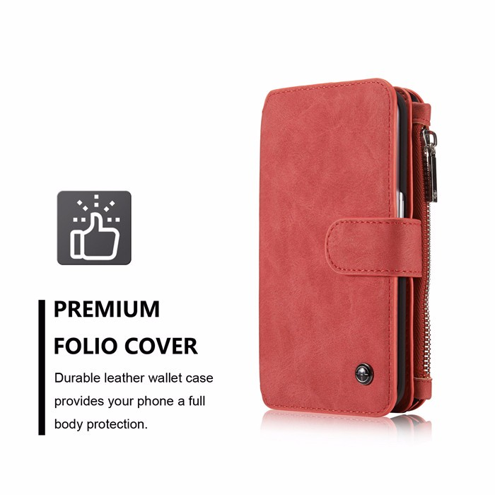 Wallet case For Samsung Galaxy S6 S6 Edge Edge Plus Genuine Leather Phone Case Bag Multi-functional Back Cover 14 Cards Holder (3)