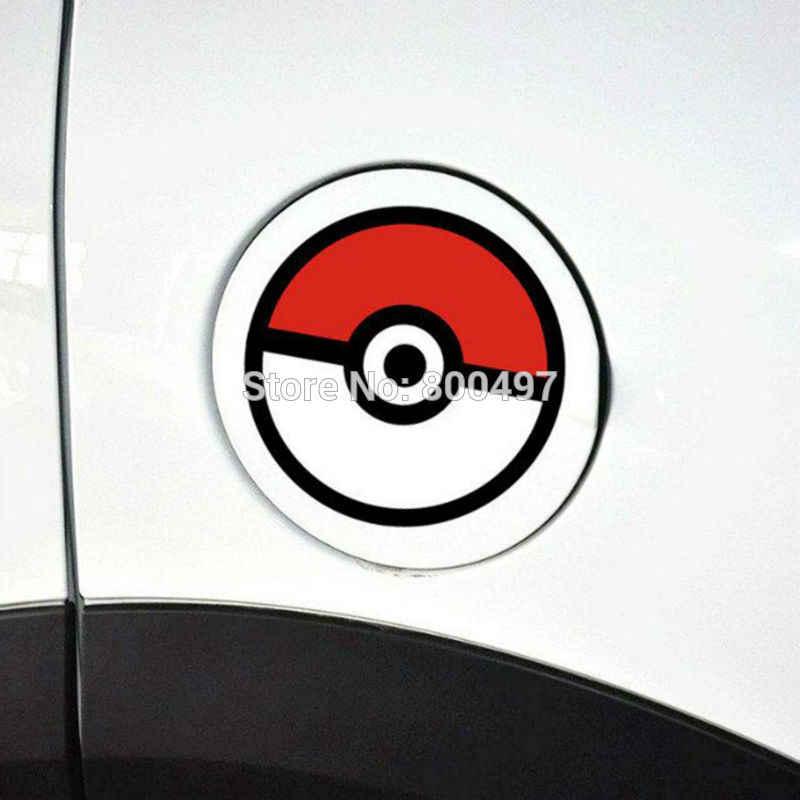 Car Styling Beau Dessin Animé Animaux Animaux Pikachu Pokemon Balle Autocollant Stickers pour Toyota Peugeot Chevrolet VW Ford Kia Lada Honda