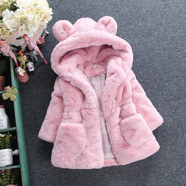 Cute Soft Fleece Coat