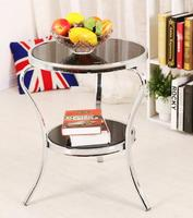 Leisure Round Table Tea Table Glass Table Flower Frame Induction Table