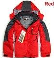 2016 moda de nueva marca niños niñas y niños deportes de invierno exterior impermeable impermeable chaqueta de esquí transpirable