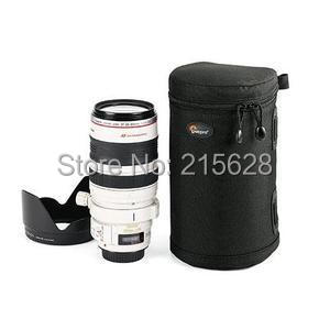 Lowepro LC3 padded Lens Case 3 waterproof Lens barrel Camera bag pouch for Nikon Canon 70-300mm (11 cmx21 cm) Photo Accessories