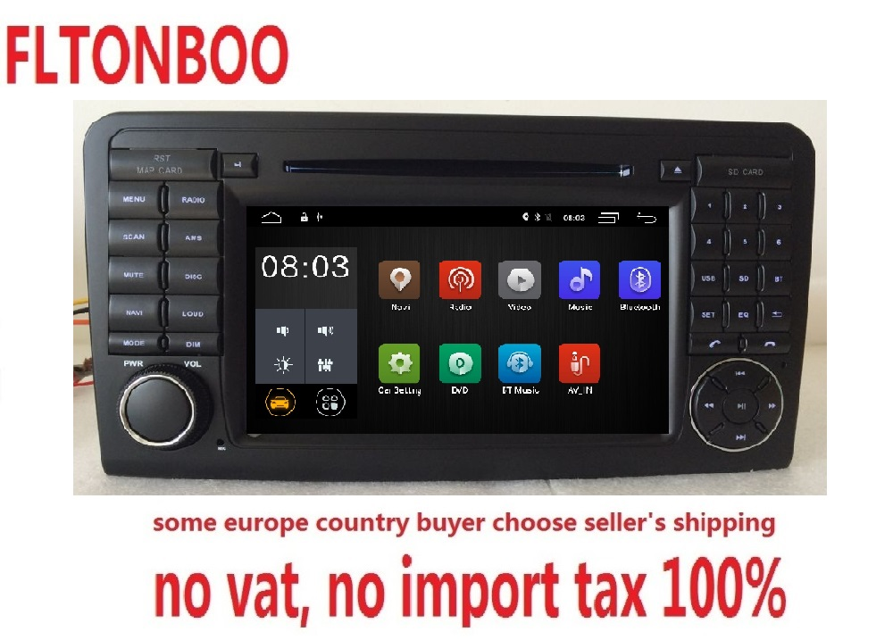 Android 8 1 For Mercedes Benz GL ML CLASS W164 ML350 ML500 X164 GL320 gps wifi