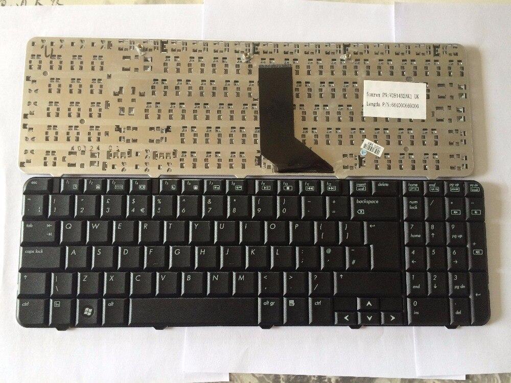 Noua tastatură din Marea Britanie pentru compaq HP CQ60 G60 G60-100 - Accesorii laptop