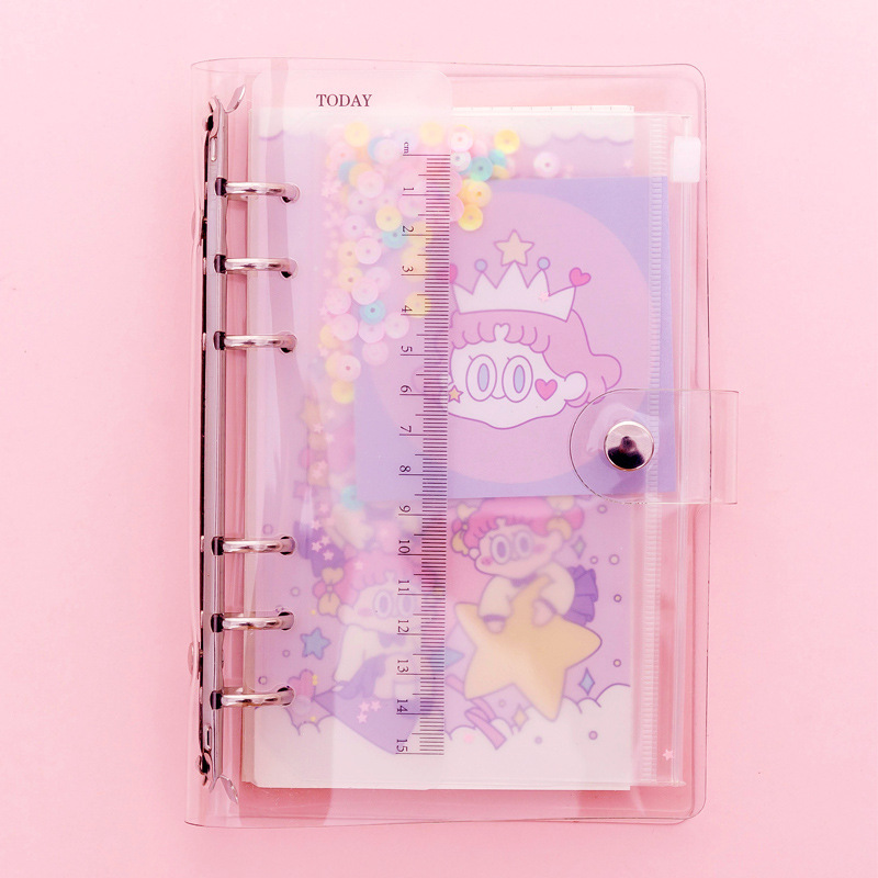 Dreaming Queen Cute Spiral Notebook 13*19cm Grided Paper 45 Sheets