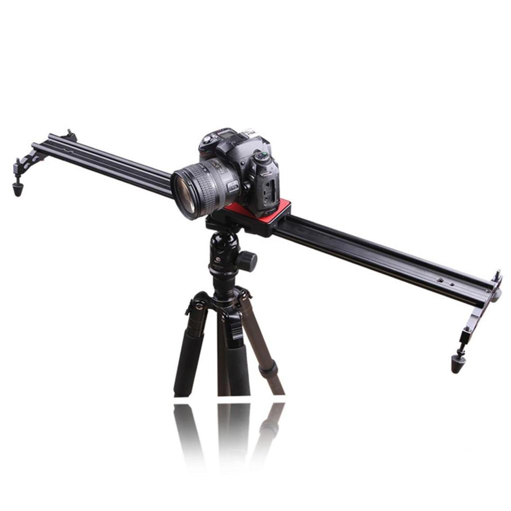 80cm/24' Aluminum Dolly Slider Rail Track for Studio Video DSLR DV Camera цена и фото