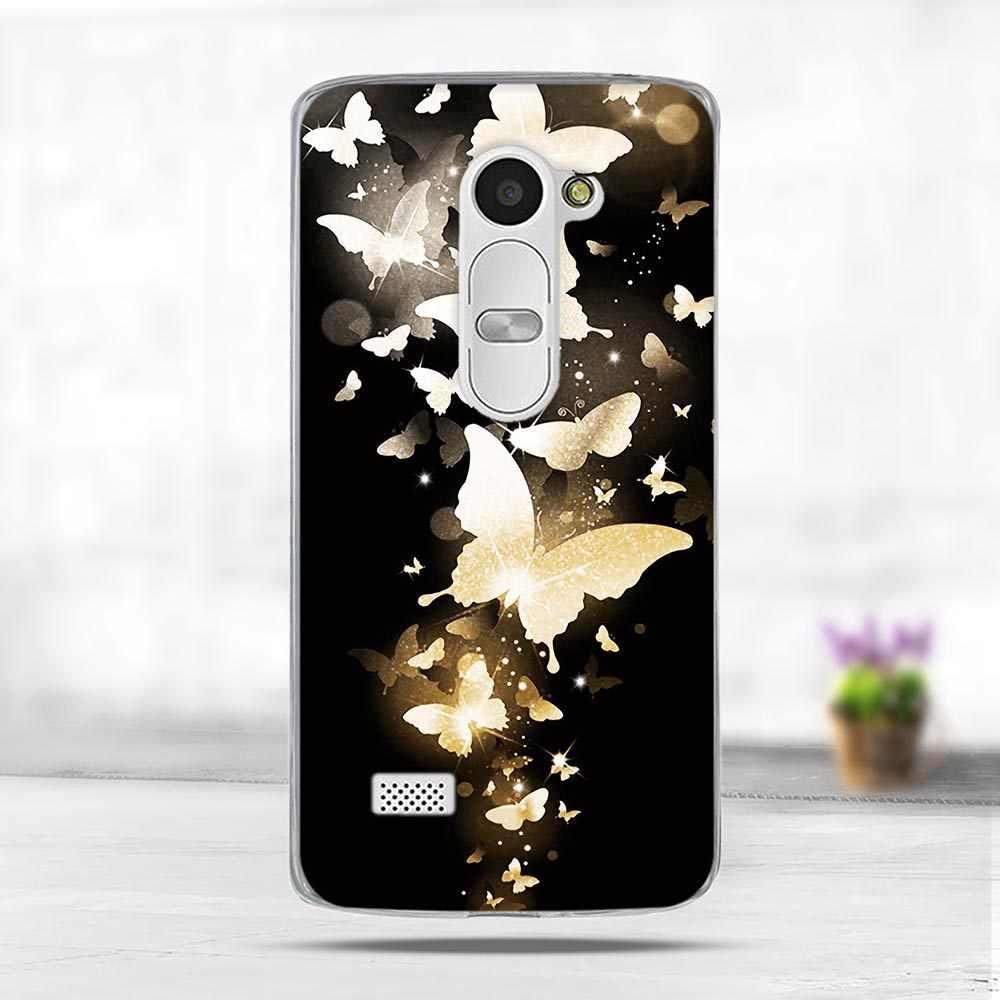 الفاخرة 3D لينة سيليكون TPU قذائف ل LG ليون 4G LTE C40 H340N حالة 3D لطيف الحيوان الغطاء الخلفي اللوحة ل LG ليون الهاتف حالات