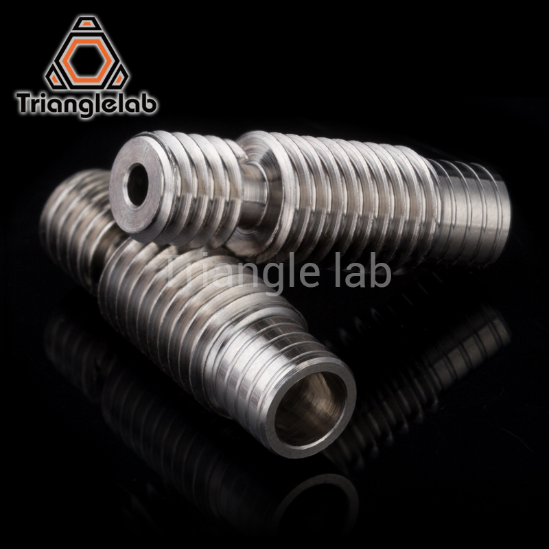 high quality V6 titanium alloy heat break TC4 for E3D V6 HOTEND heater block 1.75MM Filament Remote Feeding Tube super smooth