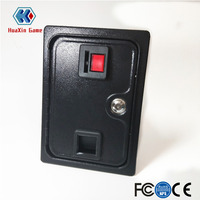 Arcade Coin Door With Quarter Acceptor For MAME or Arcade Replacement Iron Door Construction