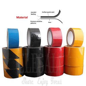 Image 2 - New 1pcs 5cm*5m Anti skid Warning Tape For Factory Warehouse Home Bathroom Stairs Skateboard Anti Slip Workplace Safety Tapes