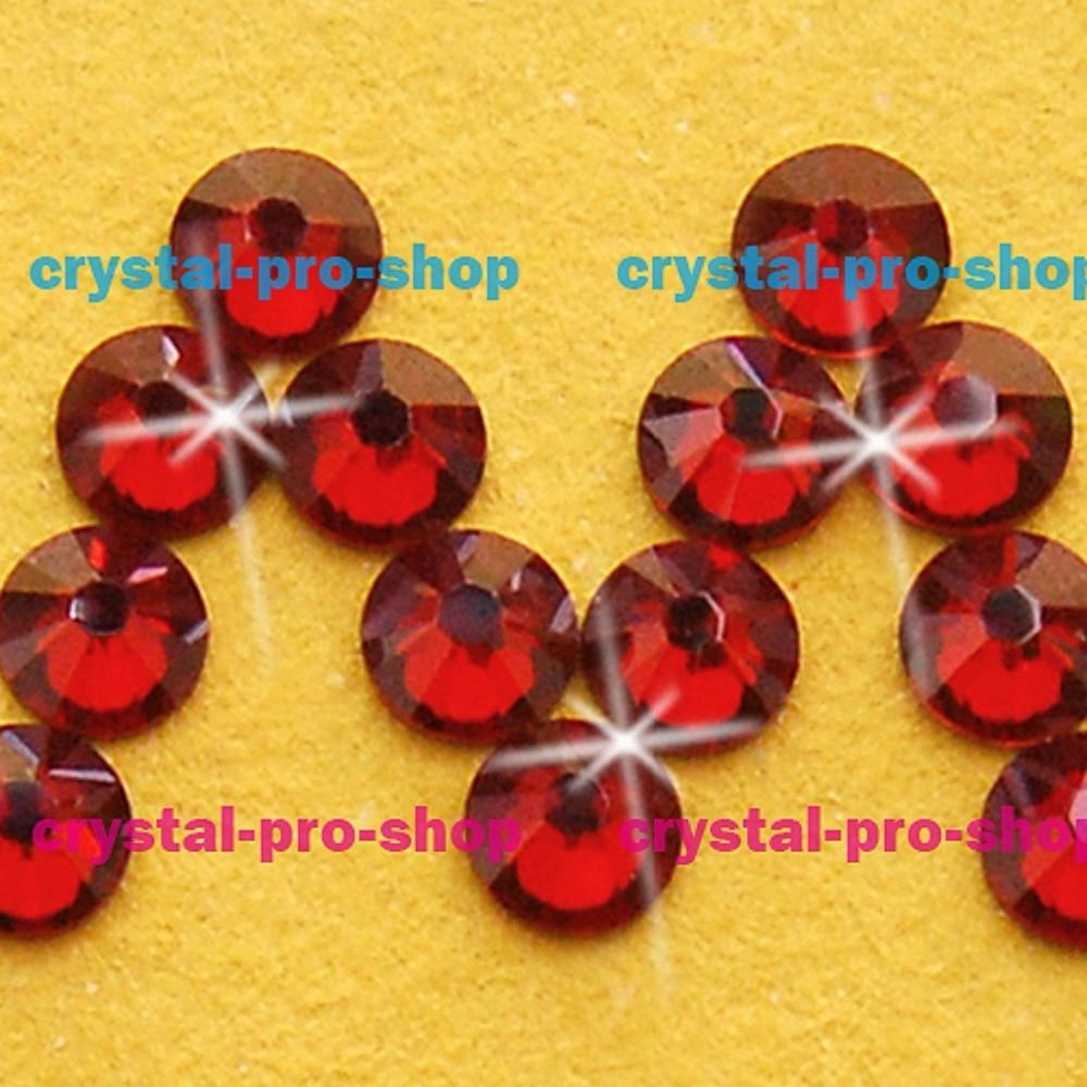 Swarovski Elements Red Magma REDM No Hotfix or Hotfix ss5 ss34 2mm 7mm Crystal Flatback Rhinestones in Rhinestones from Home Garden