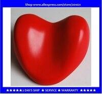 Oferta Almohada de baño de color rojo con forma de corazón y reposacabezas para bañera de hidromasaje