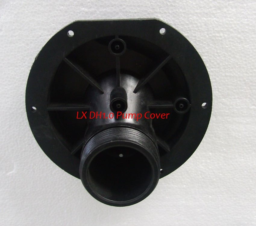 LX DH1.0  Pump Wet End Cover only Serial No B170-06E lx dh1 0 pump wet end body only