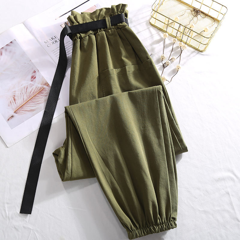 Vintage-High-Waist-Pants-Pantalon-Femme-Casual-Streetwear-Trousers-Women-Clothes-Loose-Cargo-Pants-Female-Army (3)