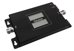 Image 5 - をlintratek 2 グラムgsm 900 + 4 4g lte 1800mhz (バンド 3) ダブルlcdディスプレイデュアルバンド信号アンプlintratek携帯電話リピータS46
