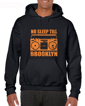 Hot 2019 Men Fashion Cotton No Sleep Till Brooklyn New York Ny 80S Mtv Cd Mixtape Rap Hoodies Sweatshirts