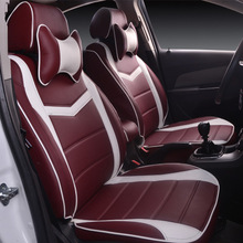 new automotive customize five seat car seating cover set for Cadillac CTS CT6 SRX DeVille Escalade SLS ATS-L/XTS MG3/5/6/7 MG-GT цена и фото