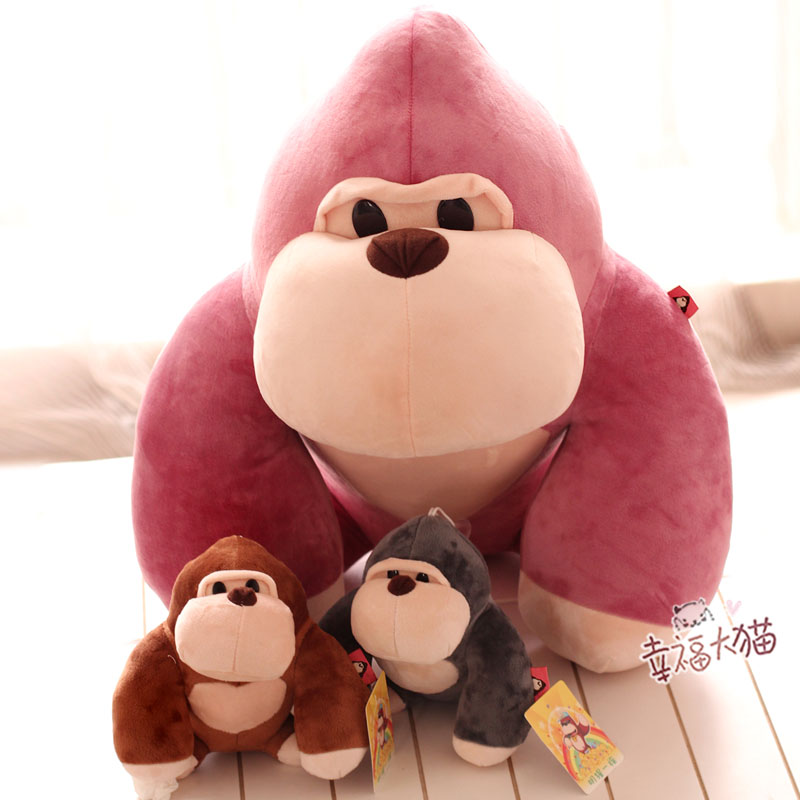 Cute Little Monkey King Kong Creative gorilla doll plush toy doll doll birthday gift for children super cute plush toy dog doll as a christmas gift for children s home decoration 20