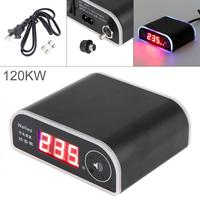 US003 Black 120KW Rat Repelling Power Saver 110 250V Electricity Saving Box with LED Display and Power Switch for Home