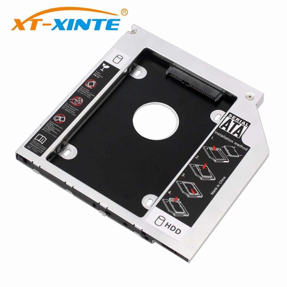 HDD Caddy SATA 3,0 interfaz 2,5 pulgadas 9mm 9,5mm 12,7mm soporte de disco duro adaptador SSD Optibay DVD CD-ROM carcasa adaptador