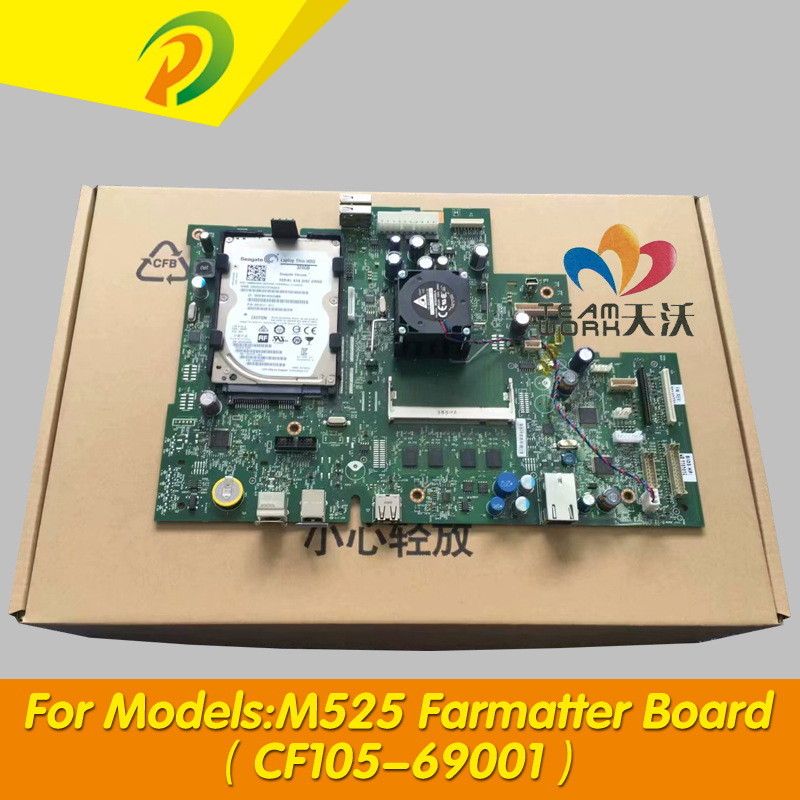 CF104-60001 CF104-69001 CF105-69001 CF105-60001 Formatter Board  For HP M525 525 M525DN M525C Series   Main Logic Board